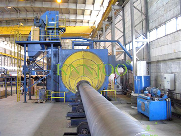 Fully Atuomated Outwall Pipe Shot Blasting Machine