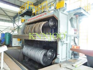 Coiled Wire Shot Blasting Machine Large Shot Blasting Machine